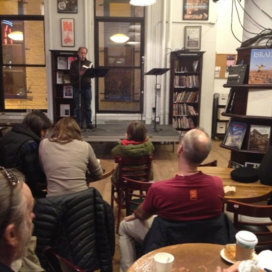 Photo taken at Housing Works Bookstore Cafe by Jon S. on 11/17/2012