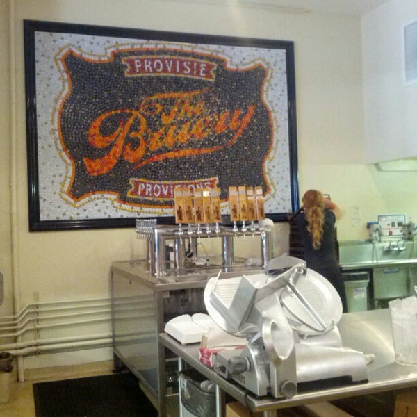 Photo taken at The Bruery Provisions by max d. on 9/22/2012