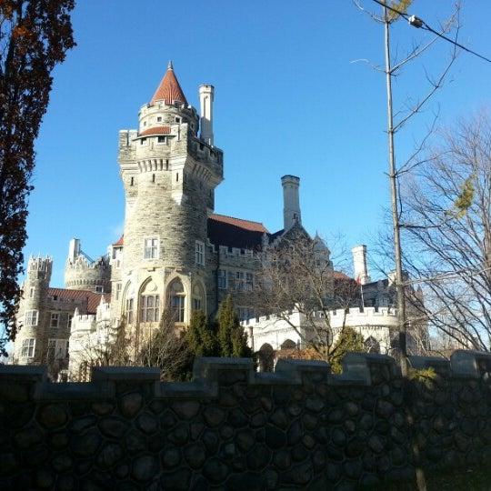 Photo taken at Casa Loma by John on 11/24/2012