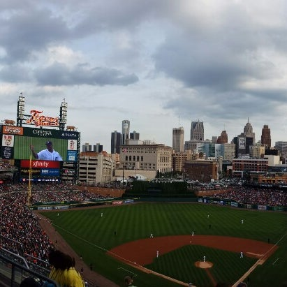 Photo taken at Comerica Park by Detroit | W. on 7/31/2013