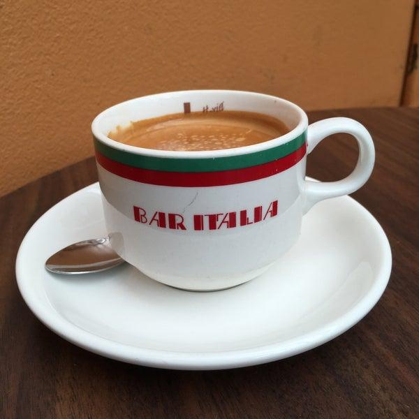 Photo taken at Bar Italia by mellie mel on 1/26/2016