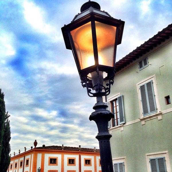Photo taken at Villa Olmi Firenze by Carlo V. on 11/21/2014