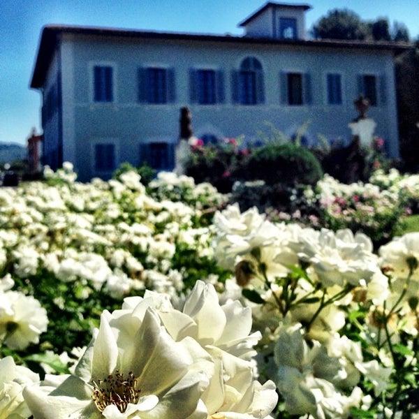 Photo taken at Villa Olmi Firenze by Carlo V. on 7/19/2014