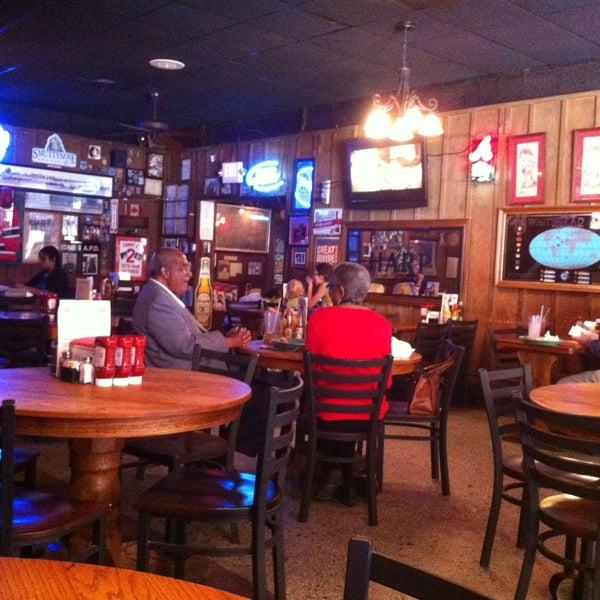 Photo taken at Manuel's Tavern by Ernie Y. on 5/29/2013