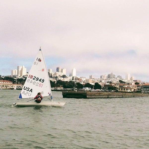 Photo taken at Golden Gate Yacht Club by Oscar L. on 8/14/2014