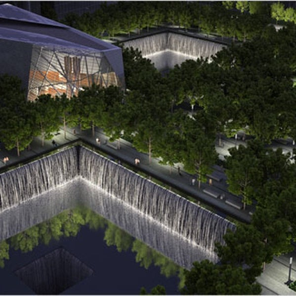 The lead design architects of the 9/11 memorial museum discuss the technically challenging and emotional task of building the museum. 5pm, free.