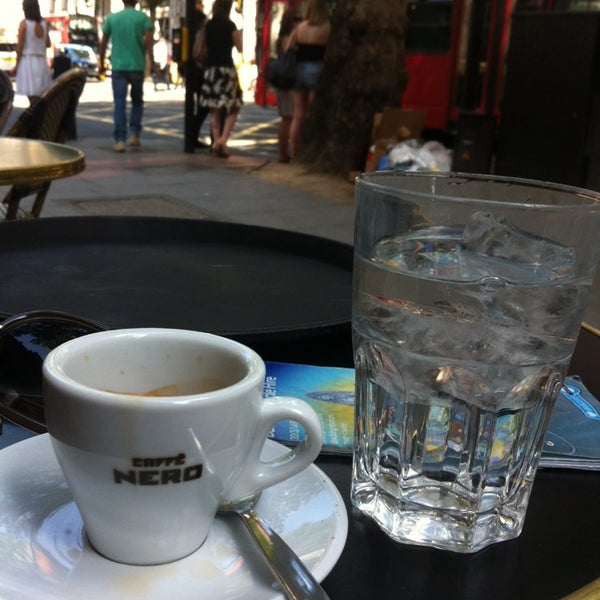 Photo taken at Caffè Nero by Marko S. on 7/22/2014