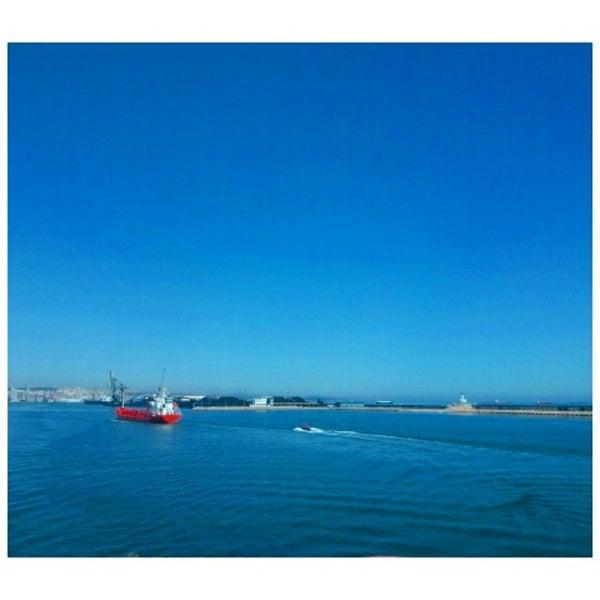 Photo taken at Port de Tarragona by Ishan M. on 4/14/2015