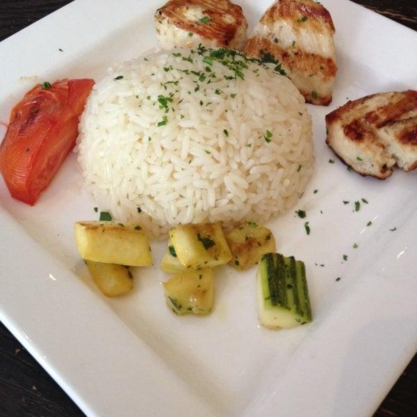 Photo taken at Hanci Turkish Cuisine by honeywhatscooking.com on 6/3/2014
