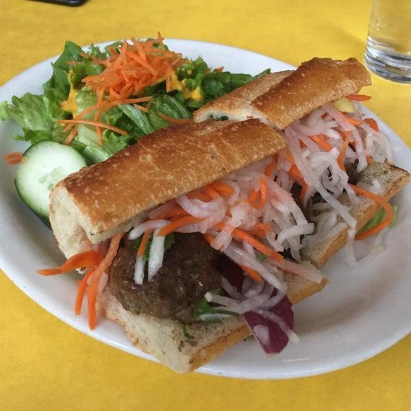 Vietnamese pork meatballs hero 😍