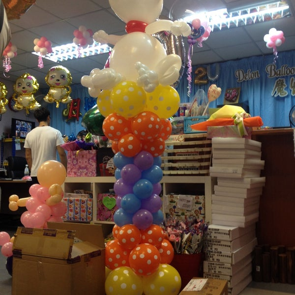 Photos at Delon Balloons Gifts Toy Game Store in Johor Bahru