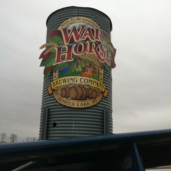 Photo taken at War Horse Brewery by Brad S. on 2/23/2013
