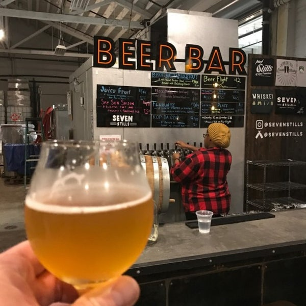 Photo taken at Seven Stills Brewery & Distillery by Eastbay_Paul on 12/4/2016