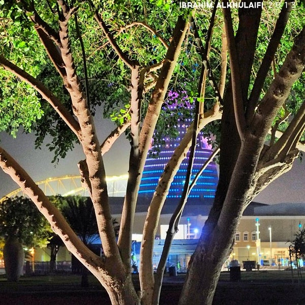 Photo taken at Aspire Park by ibo •. on 1/5/2013