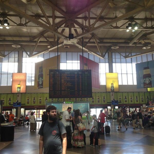 Photo taken at South Station Terminal (MBTA / Amtrak) by Eric L. on 7/5/2013