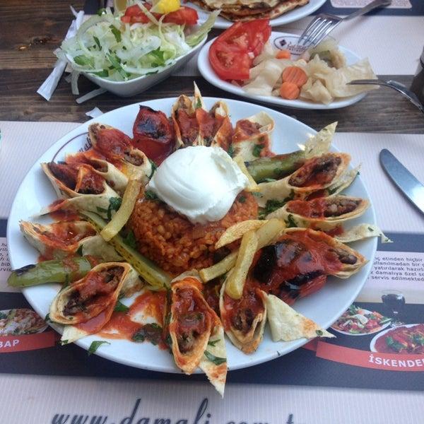 Photo taken at Damalı Restaurant by Tülin E. on 6/5/2014