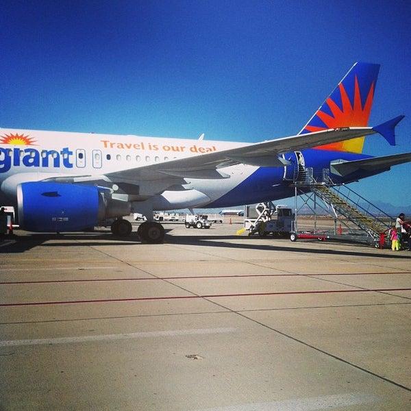 Photo taken at Phoenix-Mesa Gateway Airport (AZA) by Will W. on 3/24/2013