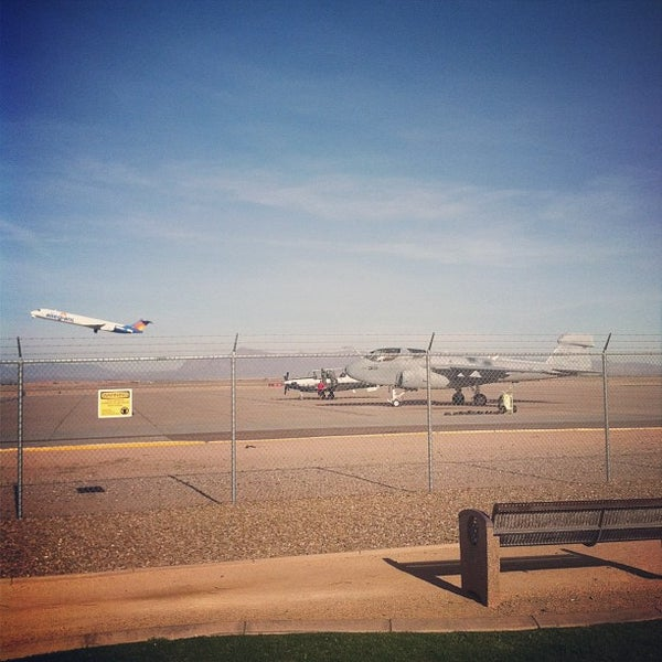 Photo taken at Phoenix-Mesa Gateway Airport (AZA) by Will W. on 11/30/2012