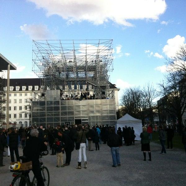 Photo taken at Pinakothek der Moderne by Hektar H. on 4/13/2013