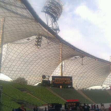 Photo taken at Olympic Stadium by Pasi A. on 9/26/2012