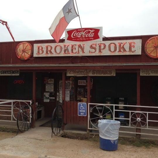 Photo taken at Broken Spoke by John R. on 10/16/2012
