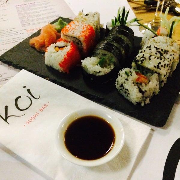 Koi sushi bar for Koi sushi aix
