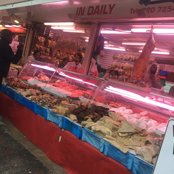 Photo taken at Ridley Road Market by Greg O. on 11/18/2017