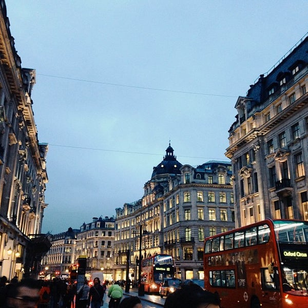 Photo taken at Oxford Street by Anna B. on 9/18/2013