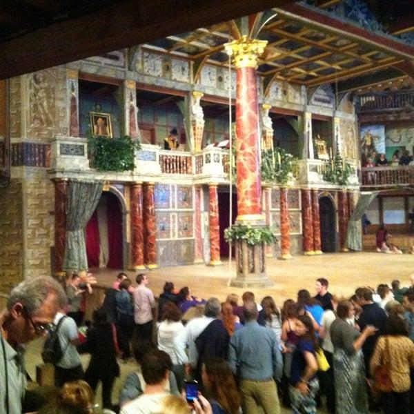 Photo taken at Shakespeare's Globe Theatre by Marika F. on 7/12/2013
