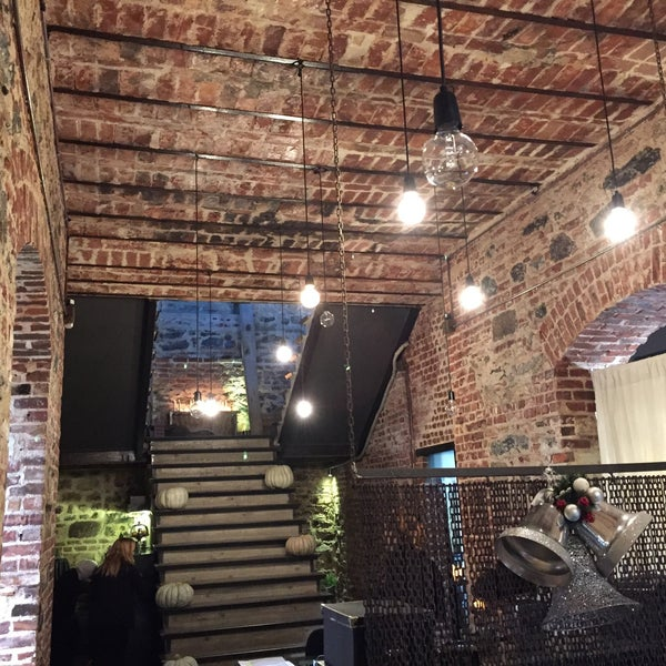 Bng basarılı bir restorasyon yapmıs, bina ve icindeki urunler cok basarılı. Etkileyici bir atmosfer var.