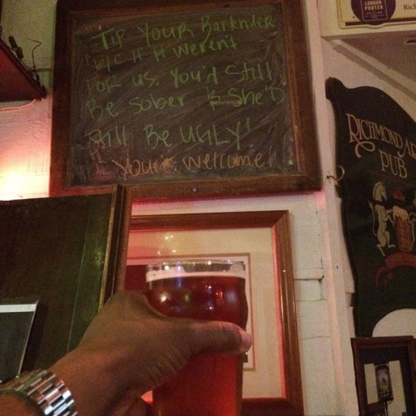 Photo taken at The Richmond Arms Pub by Otis H. on 12/1/2015