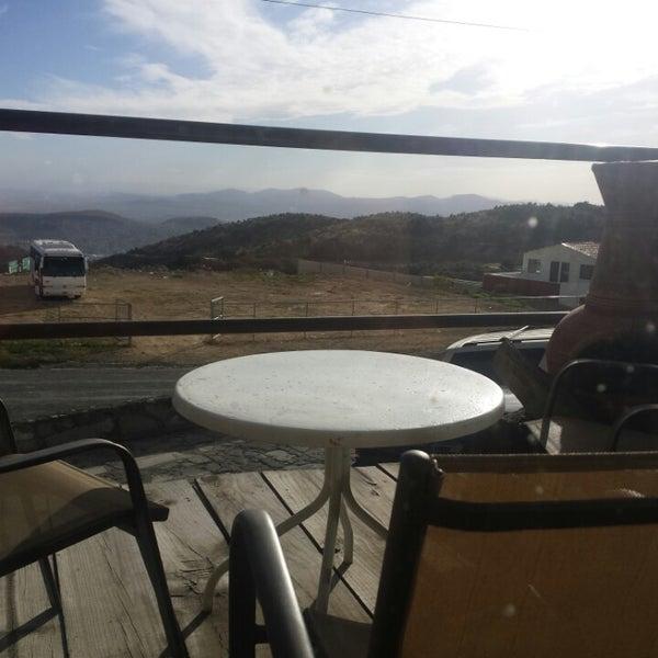 Photo taken at Villa Alpina El Chalet by Edgar G. on 3/16/2014