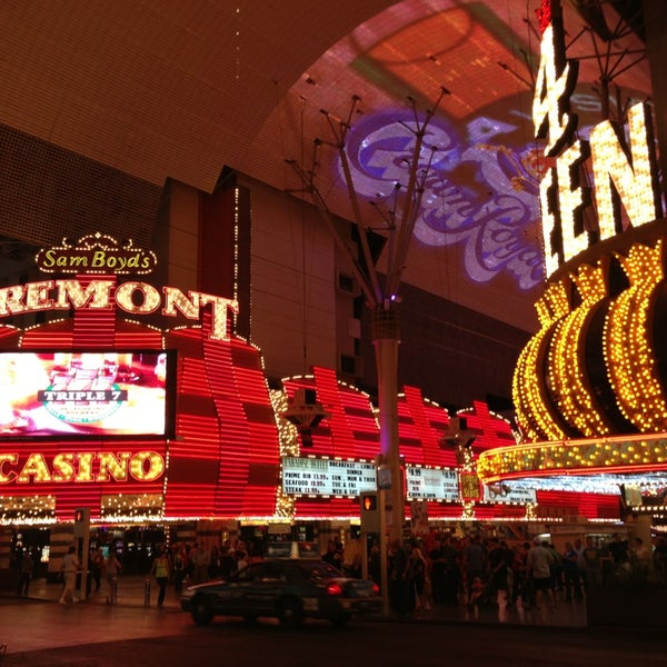 Photo taken at Fremont Street Experience by Chris V. on 3/22/2013