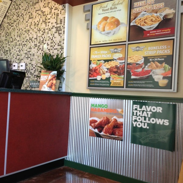 Photo taken at Wingstop by Dave K. on 8/30/2013
