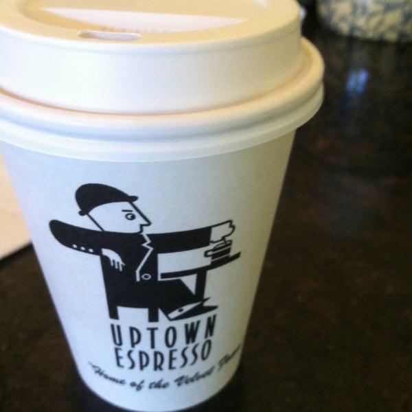 Photo taken at Uptown Espresso by Nandita R. on 5/24/2013