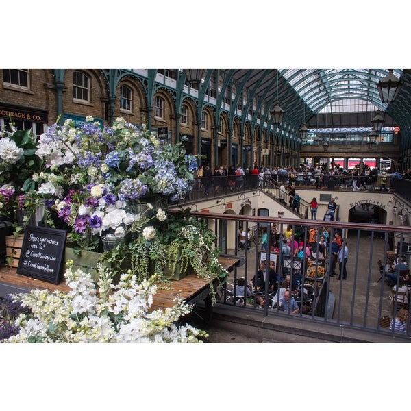 Photo taken at Covent Garden Market by James W. on 8/1/2015