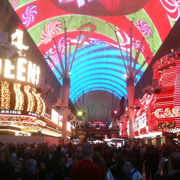 Photo taken at Fremont Street Experience by Stepan G. on 11/25/2012
