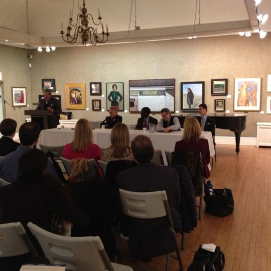 Photo taken at Salmagundi Club by Greenwich Village Chelsea Chamber of Commerce on 11/30/2012