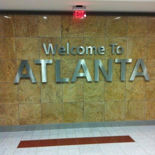 Photo taken at Hartsfield-Jackson Atlanta International Airport (ATL) by Josué L. on 12/17/2012