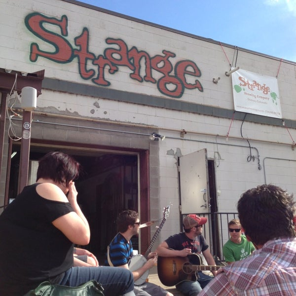 Photo taken at Strange Craft Beer Company by Pat M. on 5/19/2013