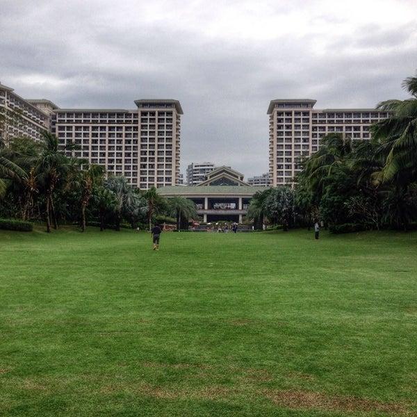 Photo taken at HowardJohnson Resort Sanya Bay by Maxim on 11/29/2013