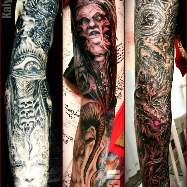 Kaly tattoo studio tattoo parlor for Studio 7 tattoo