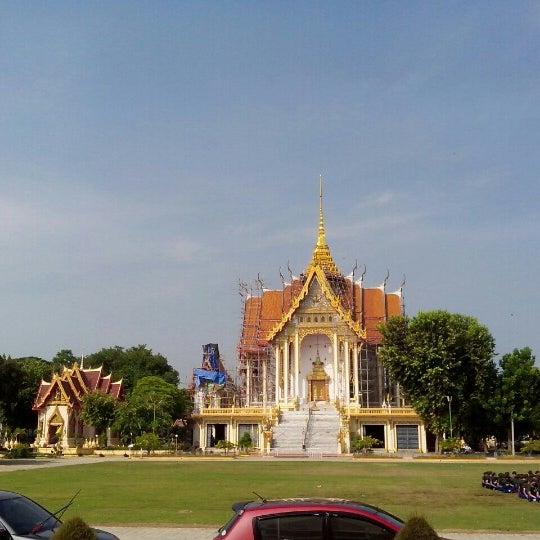 Photo taken at วัดดอนตูม บ้านโป่ง by Notety S. on 11/6/2012