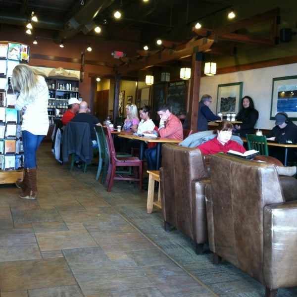 Photo taken at Caribou Coffee by Matthew S. on 3/24/2013