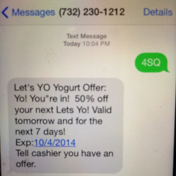 Photo taken at Let's YO! Yogurt by Charles B. on 9/28/2014