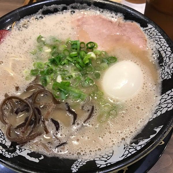 Photo taken at Hakata Ikkousha by stbaimer on 6/12/2017