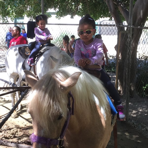 Photo taken at Griffith Park Pony Rides by Wayne H. on 4/17/2016