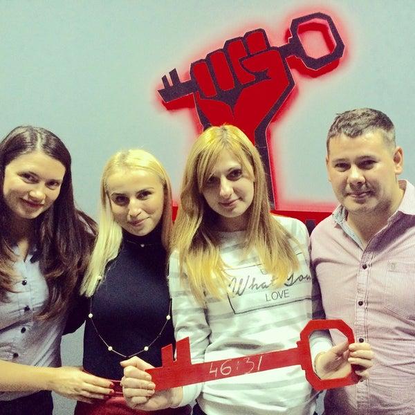 Das Foto wurde bei Сити Квест & Скаут квест комната von Оля П. am 11/25/2015 aufgenommen