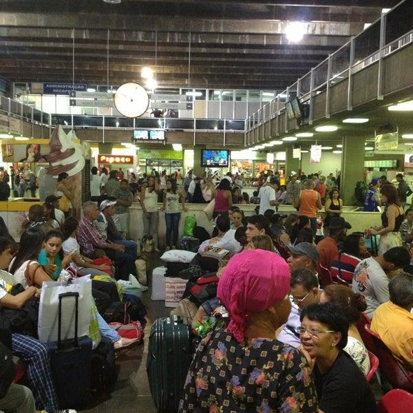 Photo taken at Terminal Rodoviário Governador Israel Pinheiro by Daniel C. on 12/29/2012