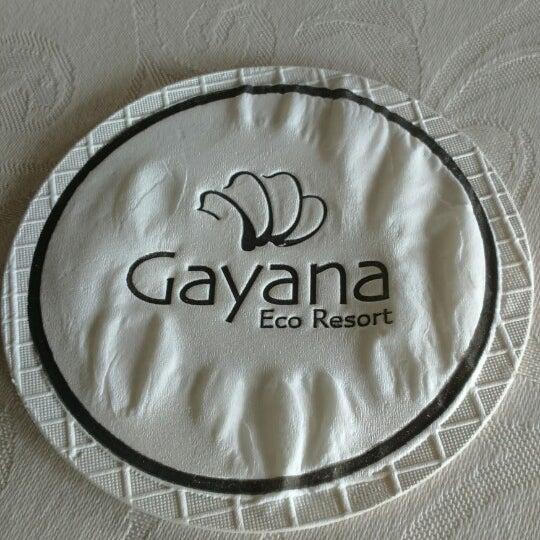 Photo taken at Gayana Eco Resort by May-May J. on 10/21/2014